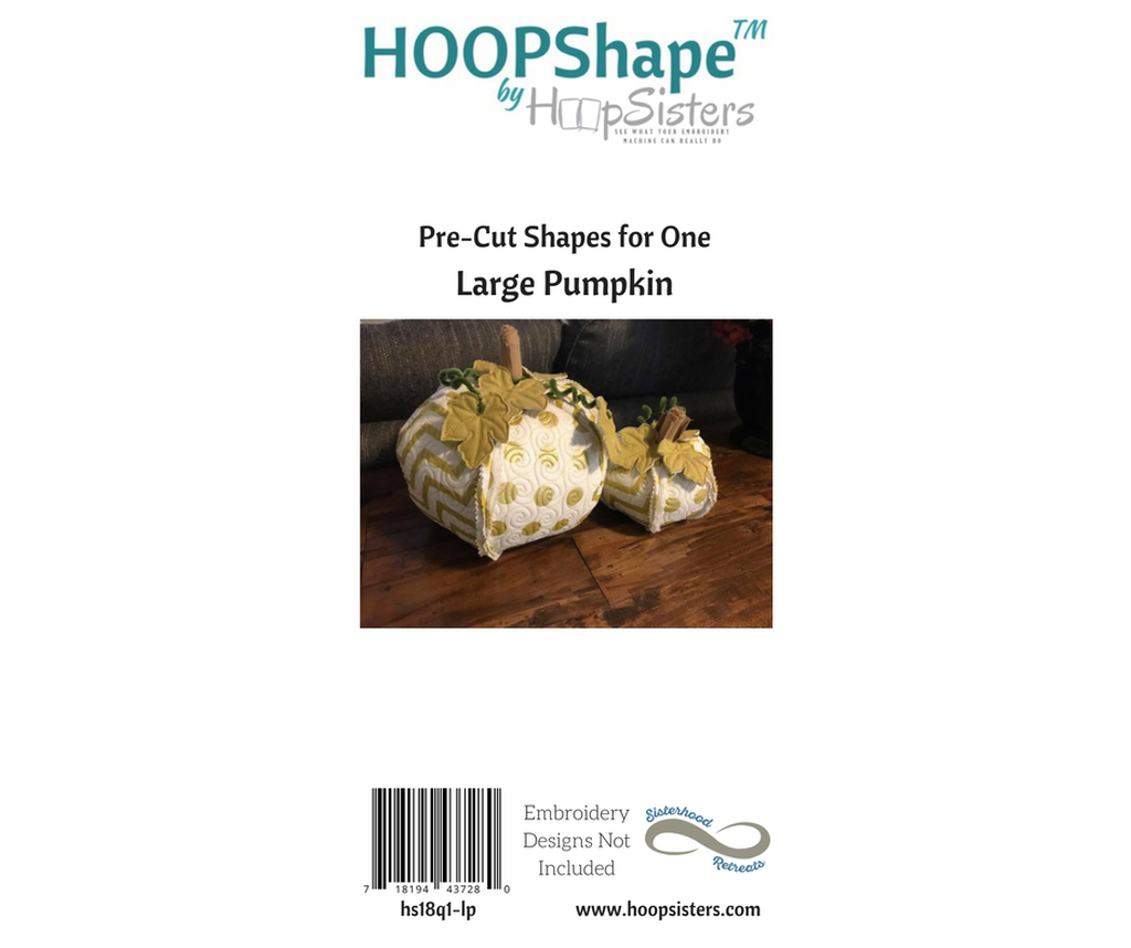 HOOPShape: Large Pumpkin