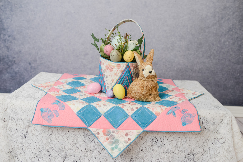 Bunny Table Topper - Digital Download