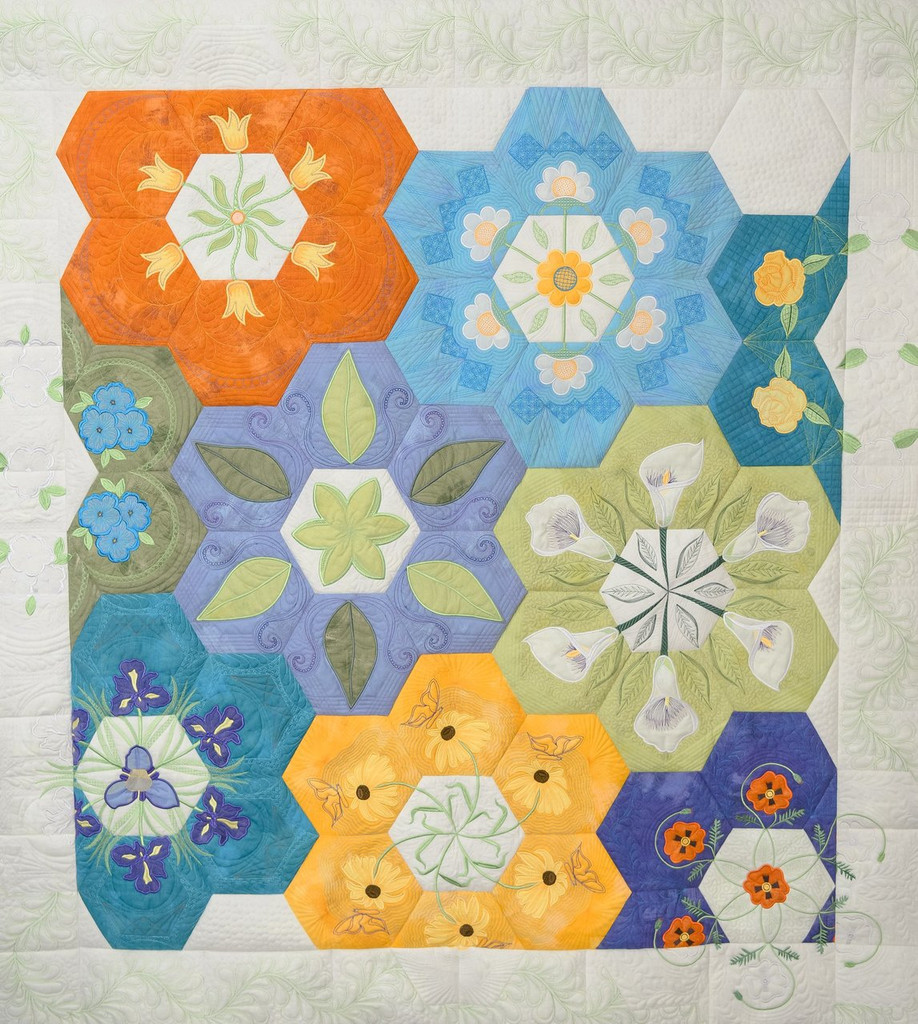 2018 Mystery Quilt Download + Border Files