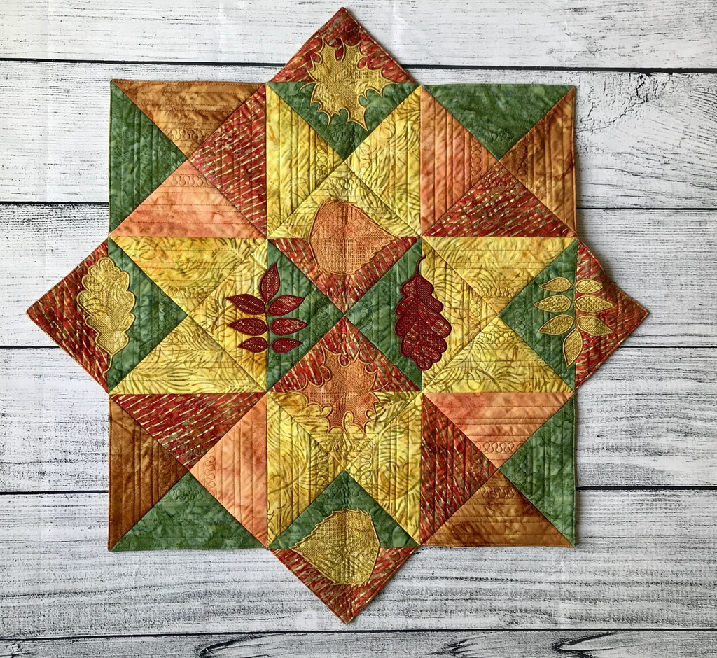 Fall Table Topper- Digital Download