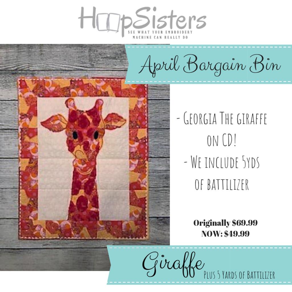 April Bargain Bin: Giraffe
