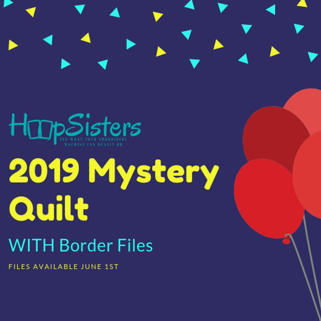 2019 Mystery Quilt WITH Border PRE-ORDER