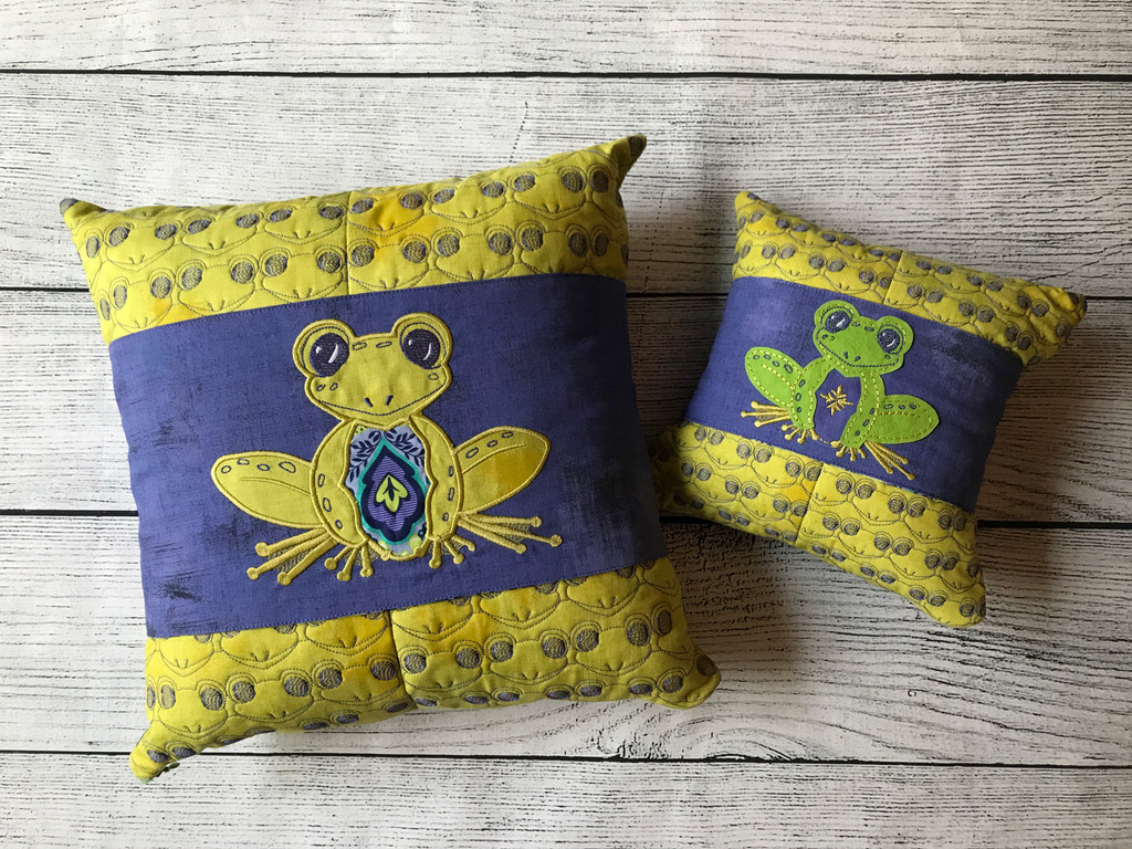 Frog Pillow Talk - Digital Download