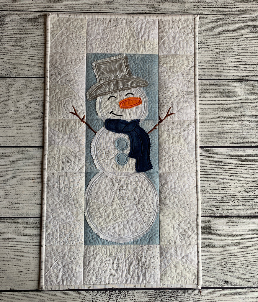 Snowman Wall Hanging - Digital Download