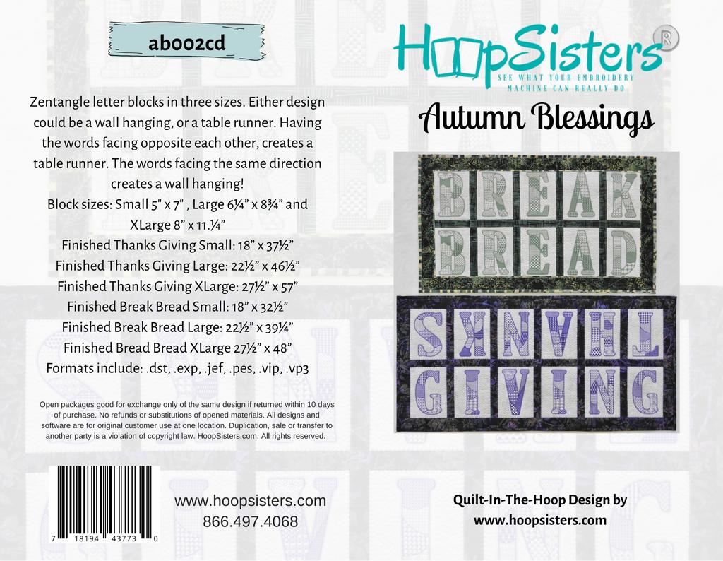 Autumn Blessings - CD Media