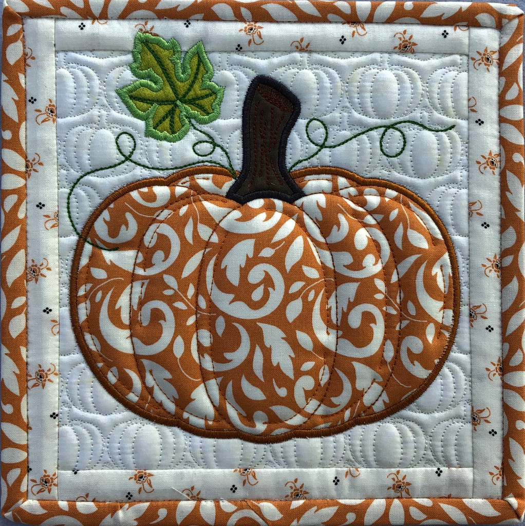 Pumpkin Block & Applique