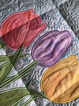 Tulips Wall Hanging - CD Media