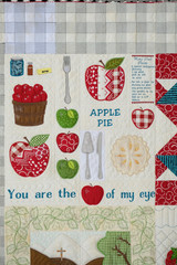 Apple of My Eye Quilt Section - CD Media