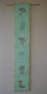 Six April Shower embroideries included as shown in the banner.
