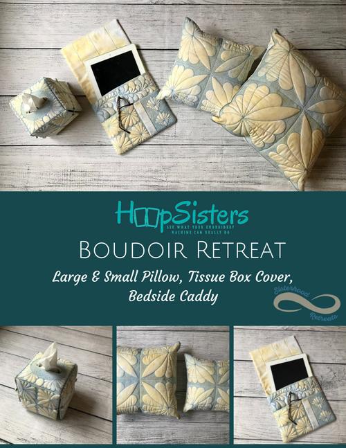 2019 Retreats: Elegant Boudoir CD, 5 yrd Batt & HoopShape Bundle