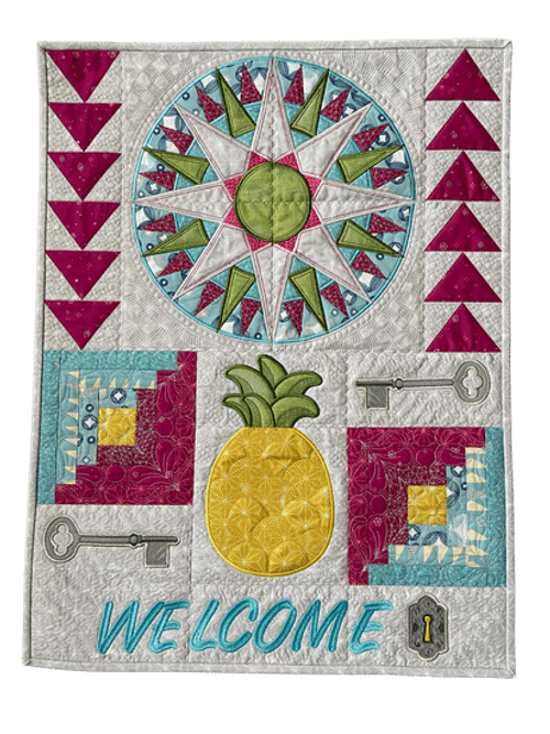 Welcome Quilt Section - Digital Download