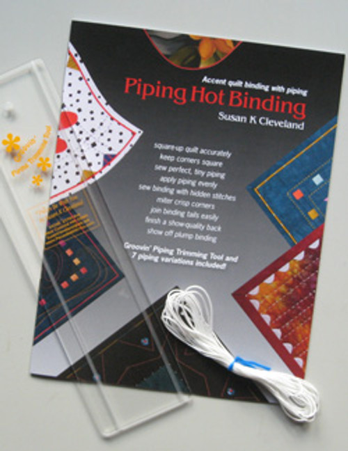 Kit Includes: 5 yards of cording, booklet and tool.