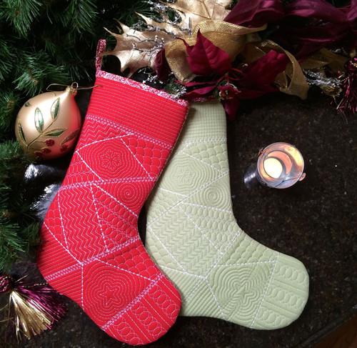 Santa Baby Christmas Stocking - Digital Download