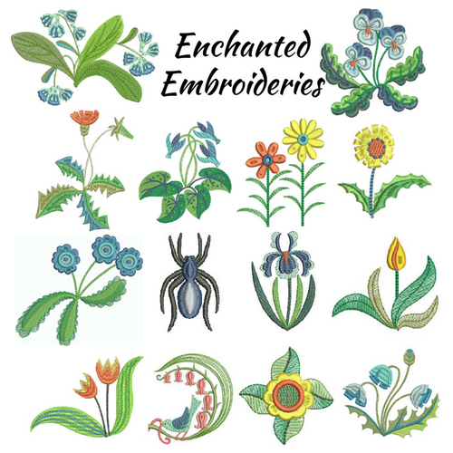 Enchanted Embroidery - Digital Download