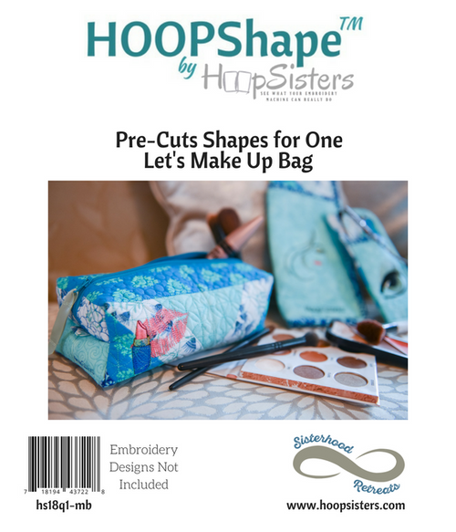 HOOPShape: Let's Make Up Bag