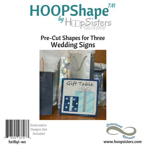 HOOPShape: Wedding Signs