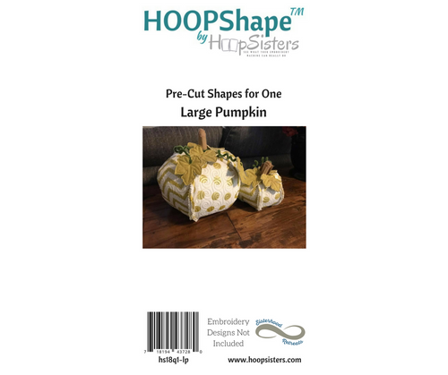 HOOPShape: Large Pumpkin