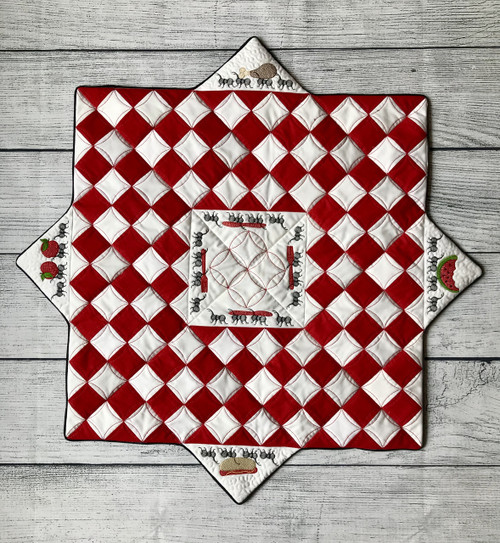June HoopClub Summer Table Topper- Digital Download