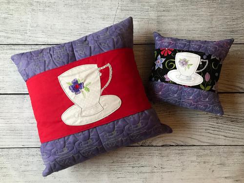 Tea Cups Pillow Talk - Digital Download