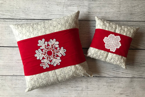 Snowflake Pillow Talk - Digital Download