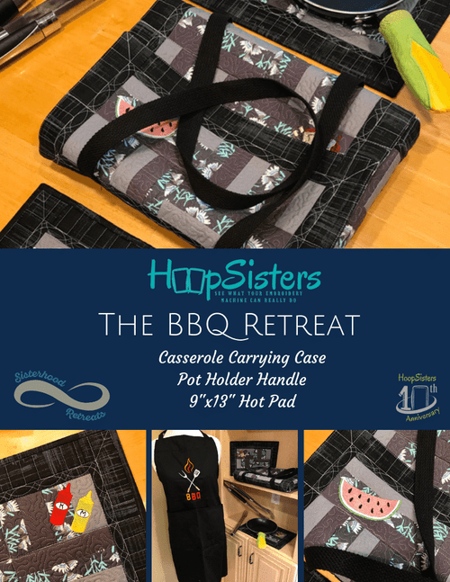 LIMITED STOCK: BBQ Retreat CD + HOOPShapes