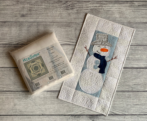 A Snowman Wall Hanging Bundle with 5yds Battilizer