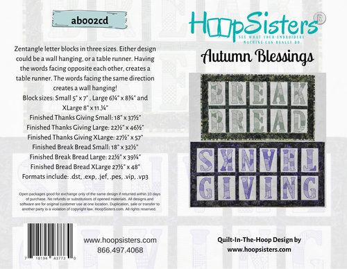 Autumn Blessings Bundle