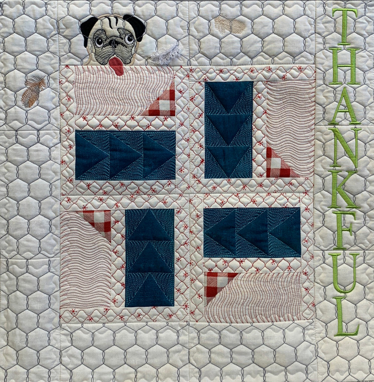 Thankful Quilt Section - Digital Download