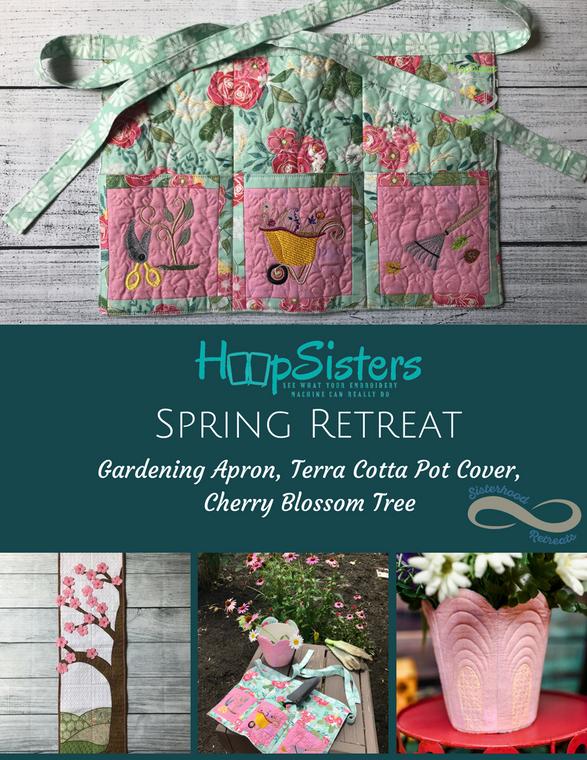 Spring Retreats Bundle w/ 5yds Batt