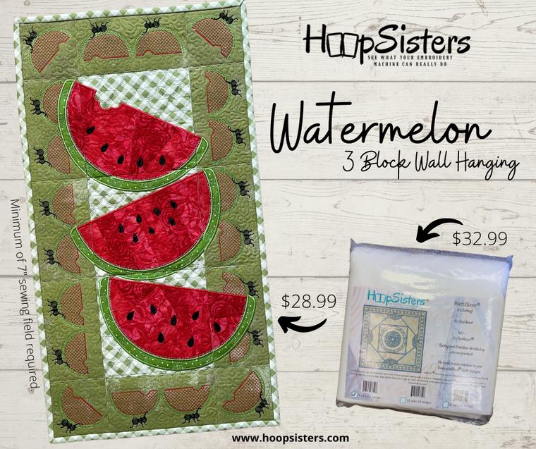 Watermelon CD Bundle w/ 5yd Batt