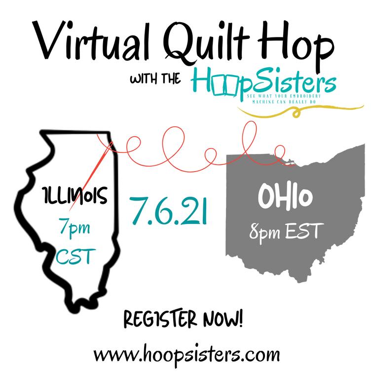 Summer 2021 Virtual Quilt Hop