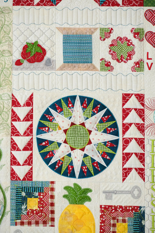 Pincushion Quilt Section - CD Media