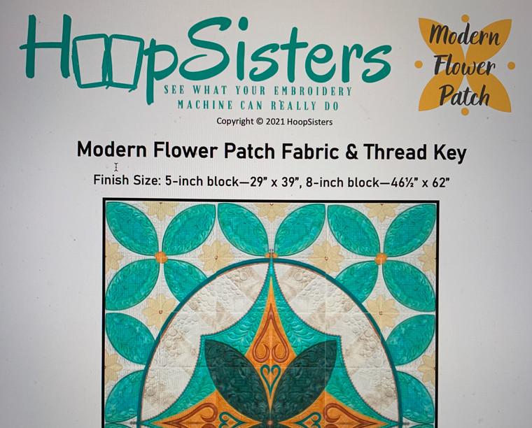 Fall Quilt Along Fabric & Thread Key