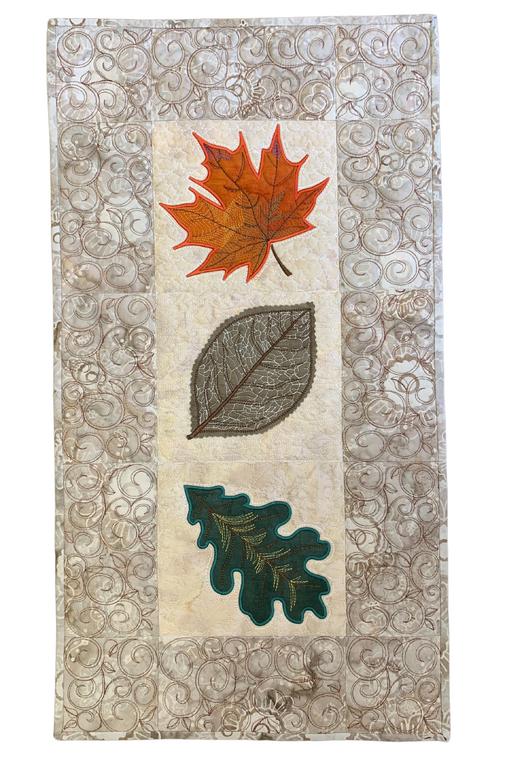 Falling Leaves Wall Hanging - Digital Download