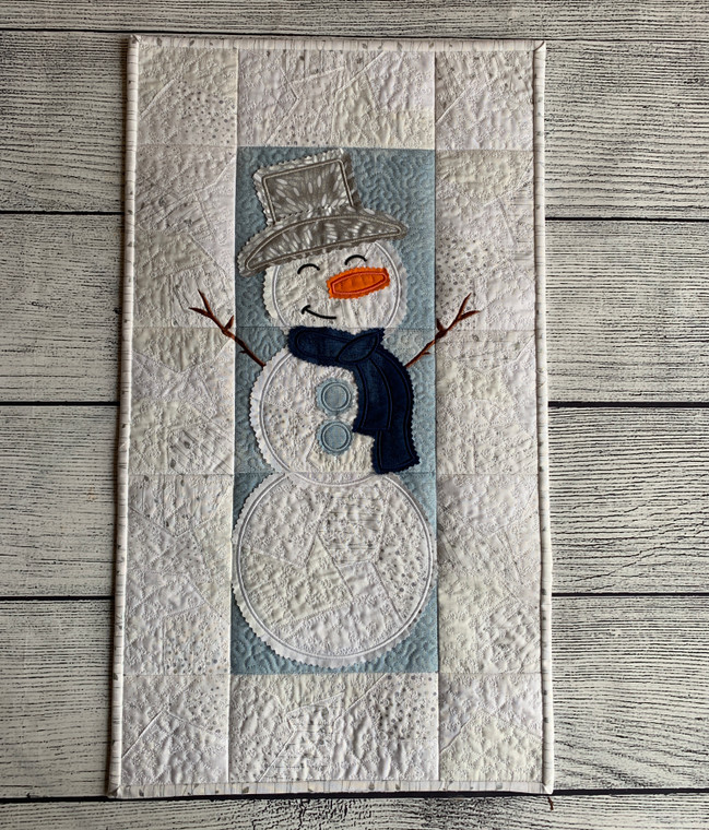 Snowman Wall Hanging - Digital Download