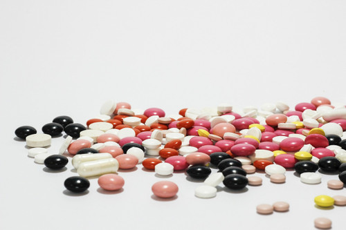 pile of colorful pharmaceutical drugs