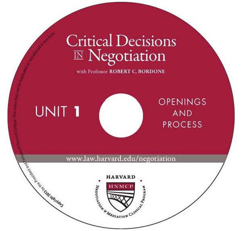 Harvard Negotiation & Mediation Clinical Program Critical Decisions in Negotiation Logo