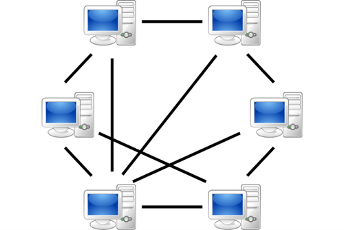 web of computers