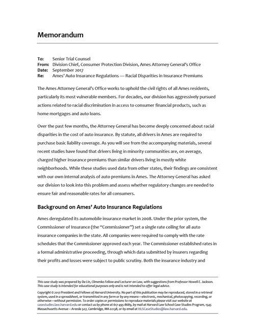 consumer protection case study