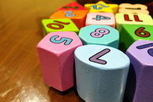 colorful play blocks