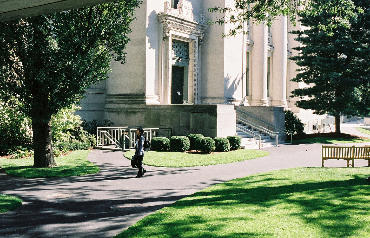 Langdell Hall at Harvard Law School
