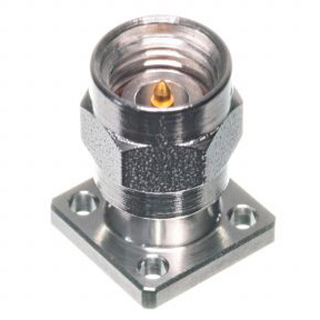 2.92mm Male 4-hole .375 Square Connector