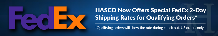 HASCO ships FedEx