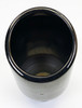 """Exhaust Tip 2.25 Inlet 4.50 Dia X 7.75"""" Long Black Chrome 304 Stainless Slant Wesdon Exhaust Tip"""