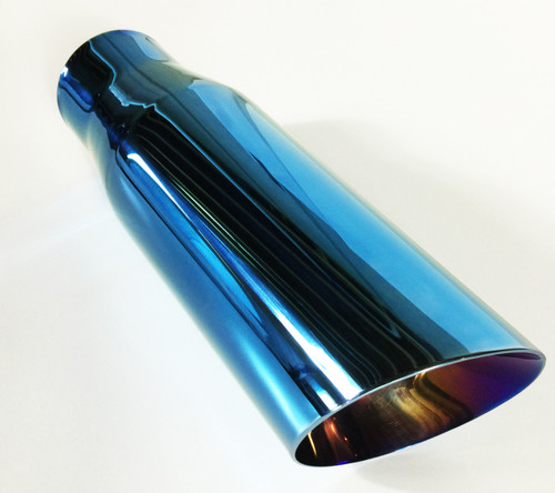 W40012-300-DWB Stainless Steel Burned Color Blue Long View