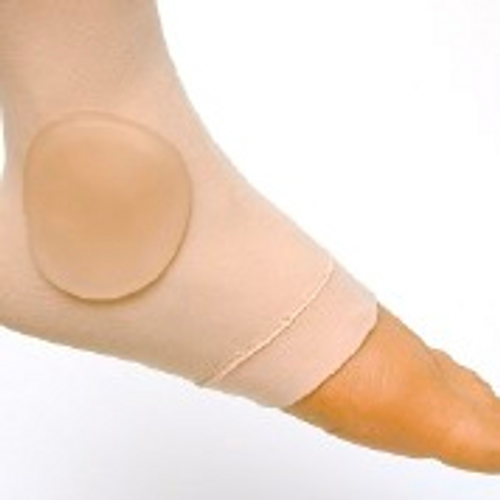 Ankle Gel Disk Sleeve with 2 Gel Side Disks - One Size