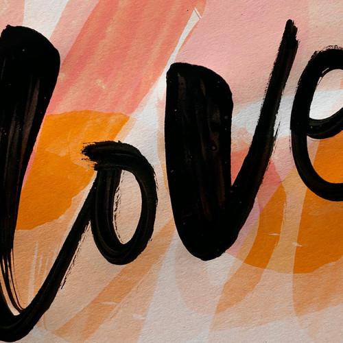 'Love' print.