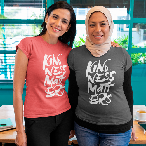 Kindness Matters Womens Tee Shirt - Free Shipping Australia
