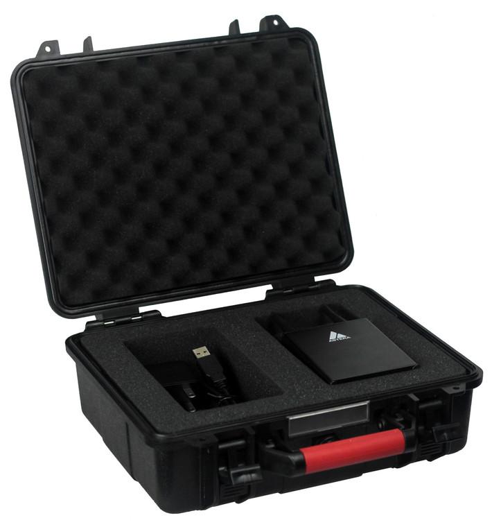 ARTSET Package- Samsung Tablet, Flight Case and ART7 AsteraBox CRMX LumenRadio Transmitter - Controller with preprogrammed app included.