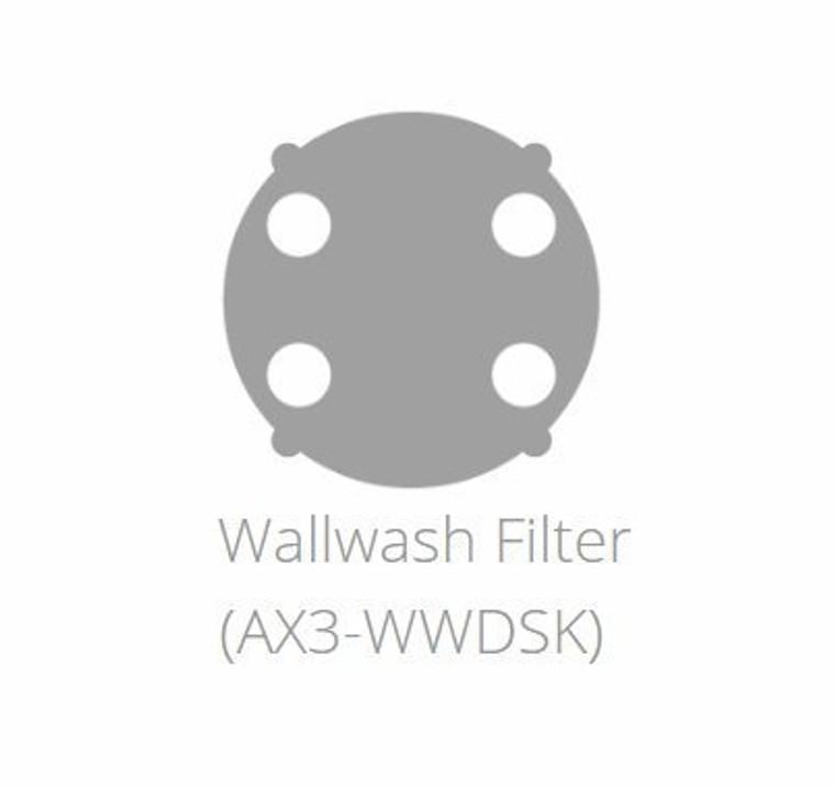 Astera LED AX3 Lightdrop Wall Wash Filter AX3-WWDSK